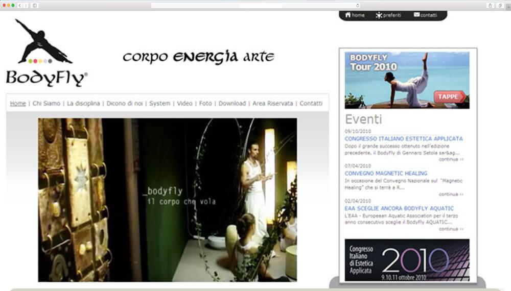 Sviluppo sito internet istituzionale