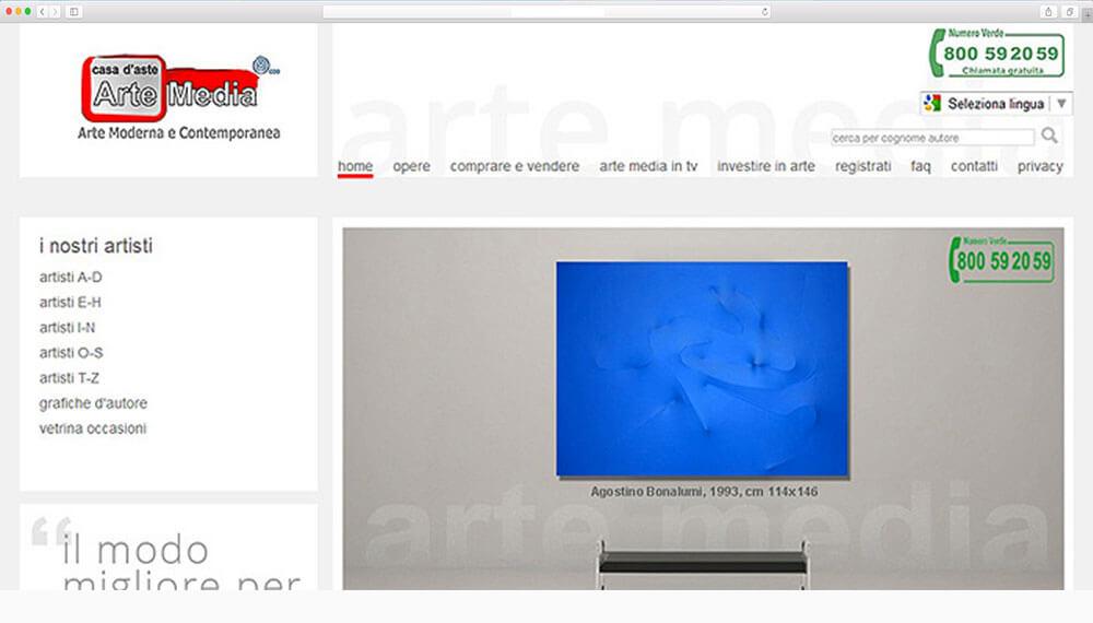 realizzazione-sito-web arte-media