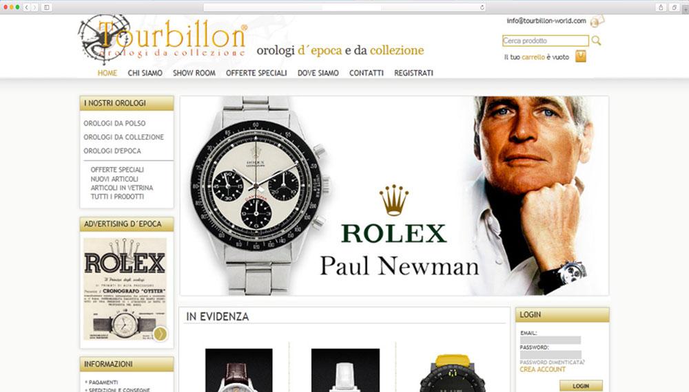 realizzazione e-commerce vendita orologi