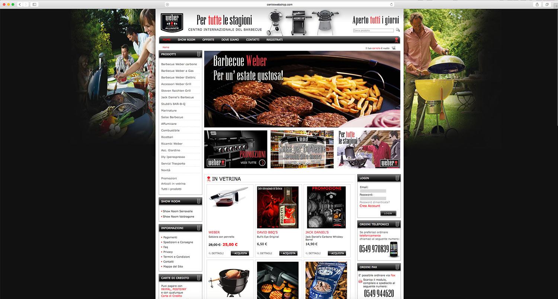 Realizzazione shop online prodotti barbecue