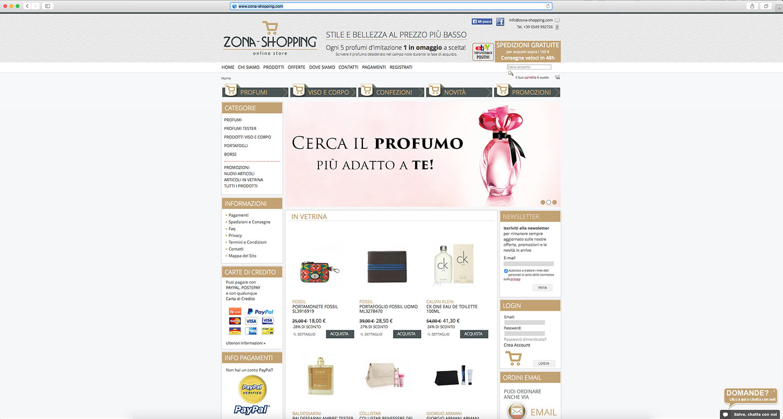 realizzazione shop online
