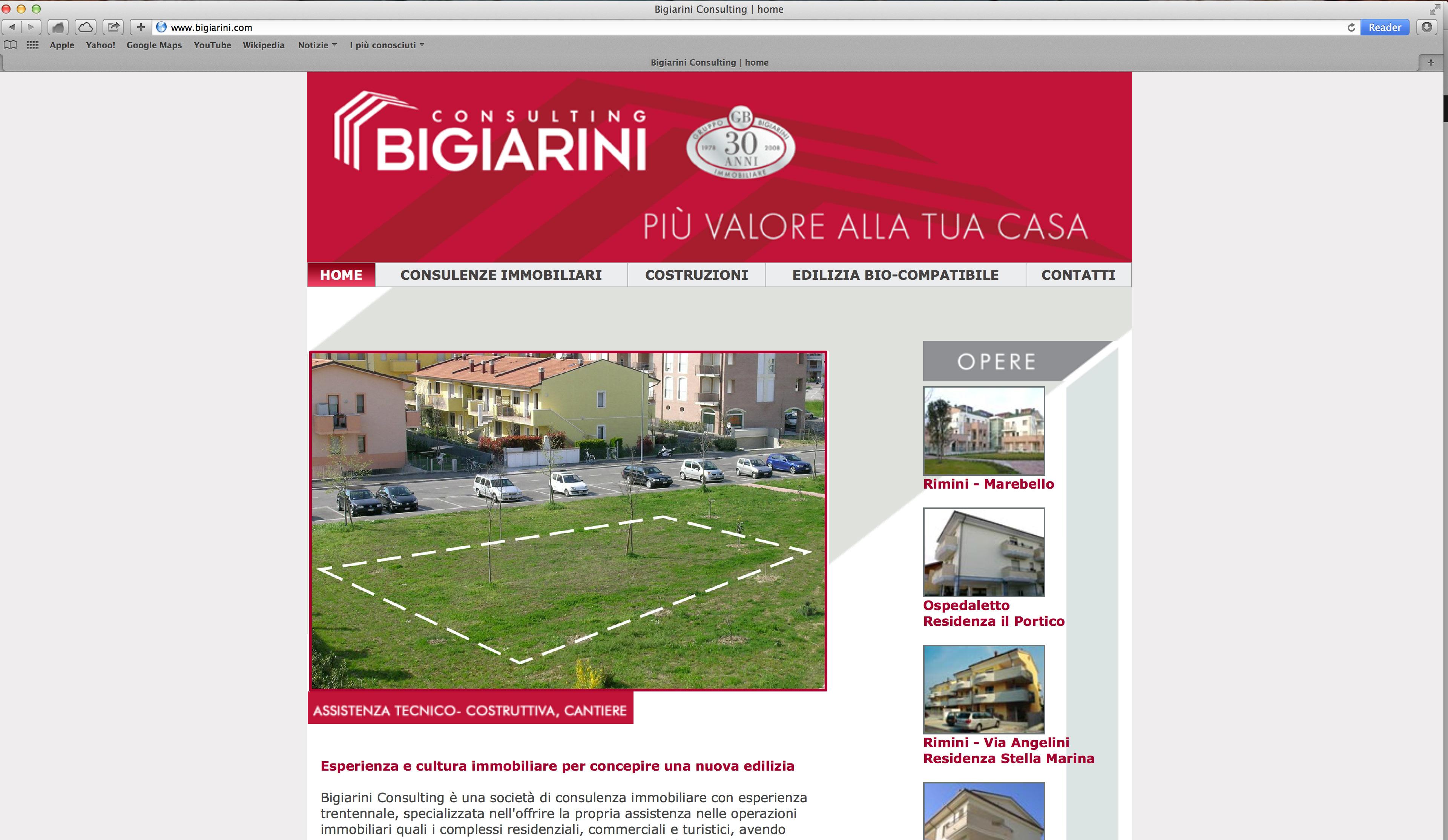 Sviluppo sito web consulenze immobiliari