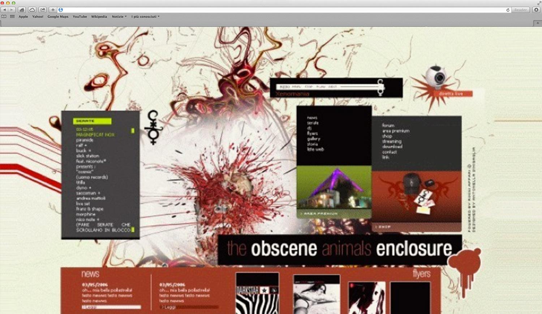 Realizzazione sito web discoteca Cocoricò riccione