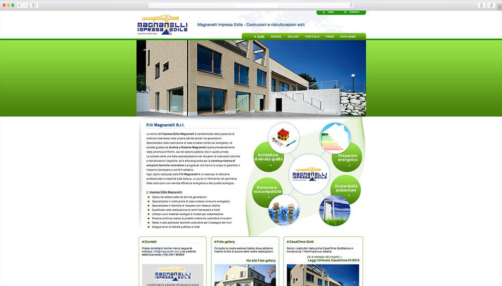 sviluppo sito aziendale impresa edile