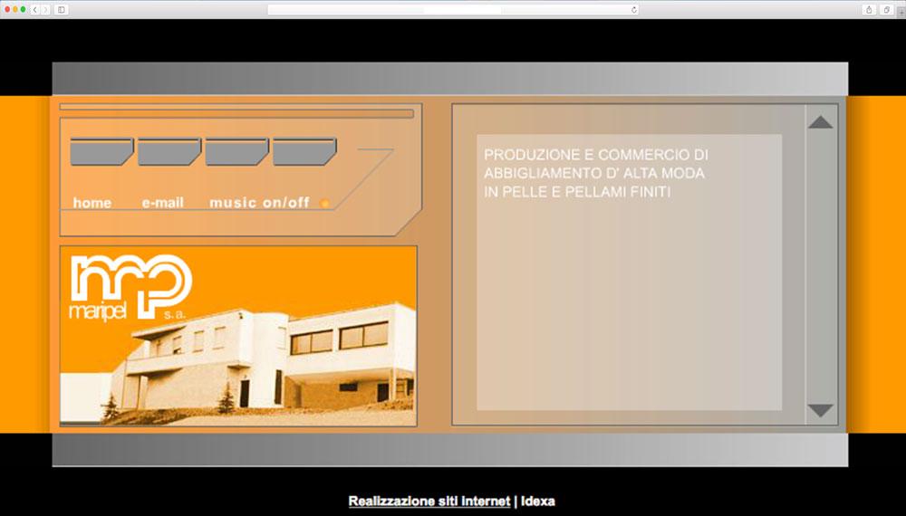 realizzazione sito web per pelletteria