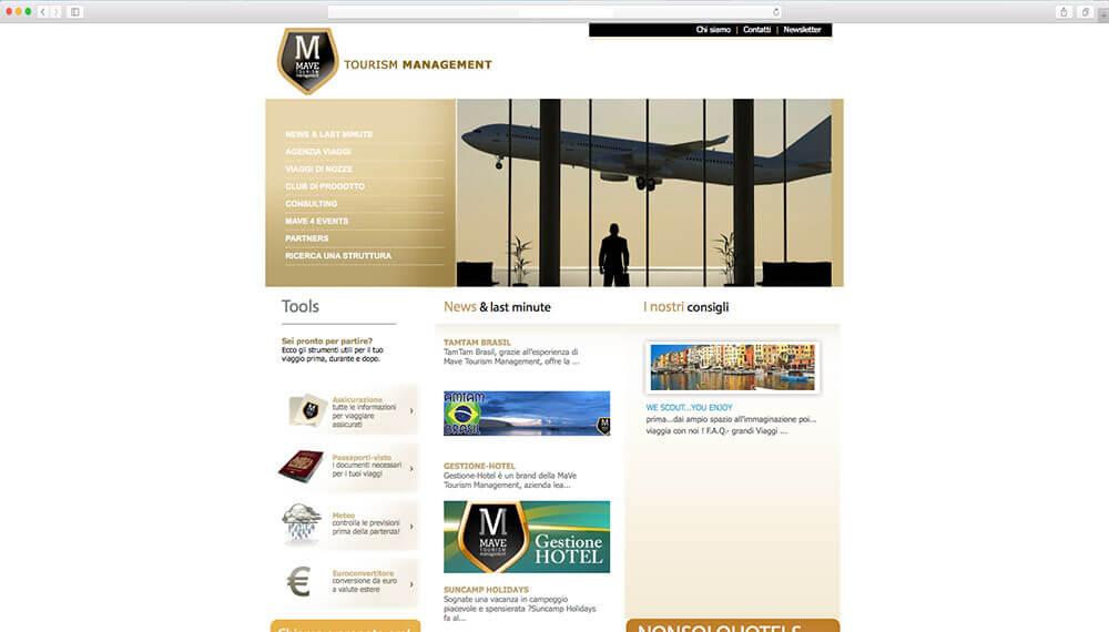 sviluppo portale informazioni turistiche