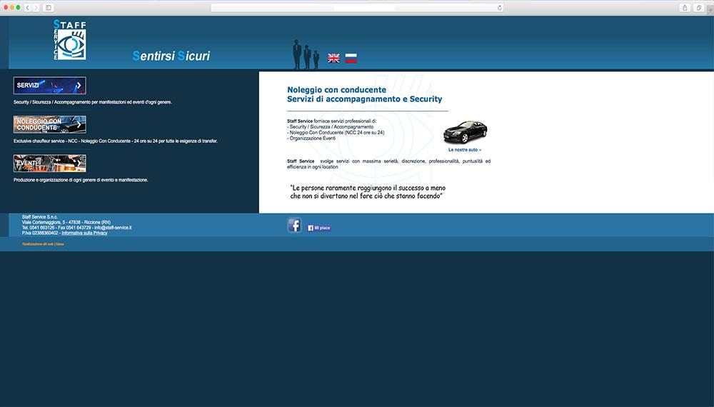 realizzazione sito web sicurezza