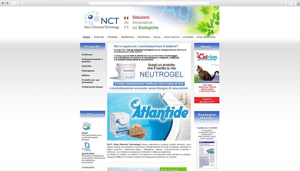 realizzazione e-commerce prodotti chimici