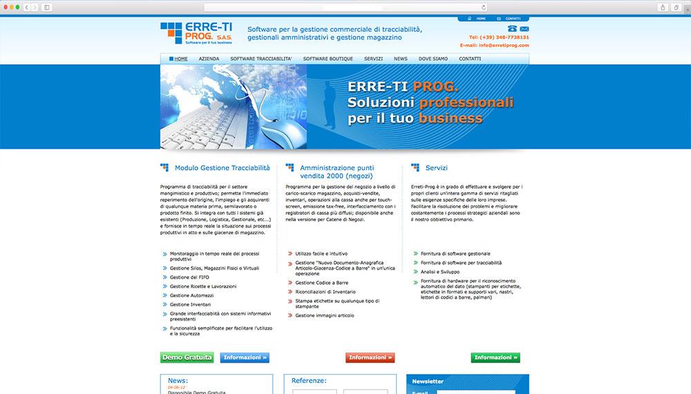 Sviluppo sito web aziendale