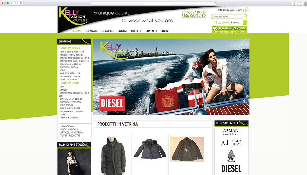 realizzazione e-commerce abbigliamento