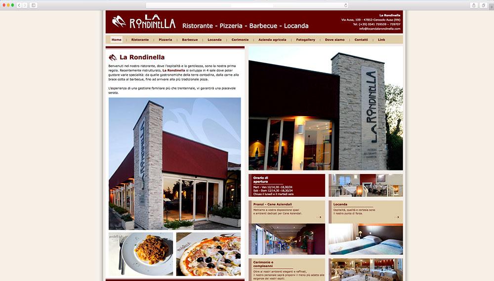 realizzazione sito web per ristorante pizzeria rimini