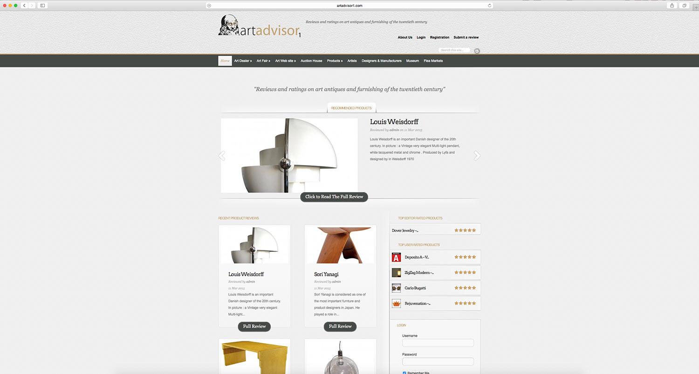realizzazione-sito-web artadvisor