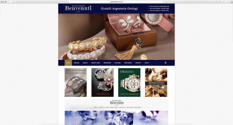 Realizzazione ecommerce per gioielleria
