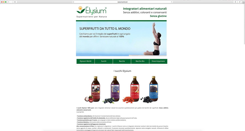 Realizzazione e-commerce prodotti naturali