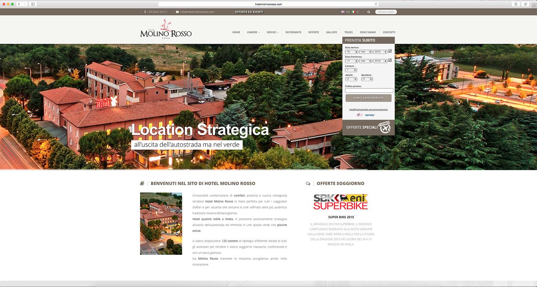 Sviluppo sito web per hotel a Bologna