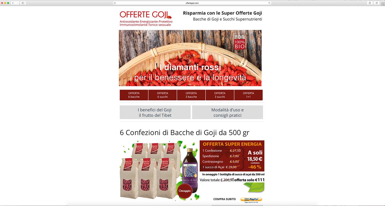sviluppo e-commerce prodotti alimentari