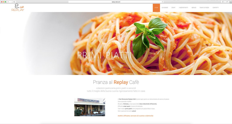 realizzazione sito web per ristorante