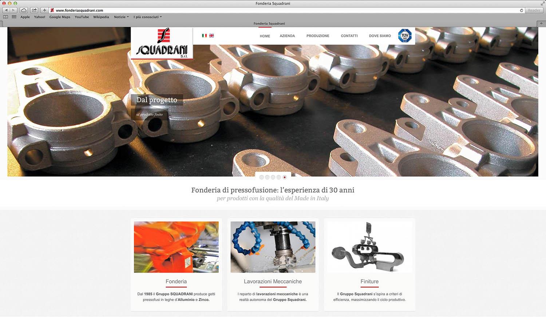 Realizzazione sito web per fonderia