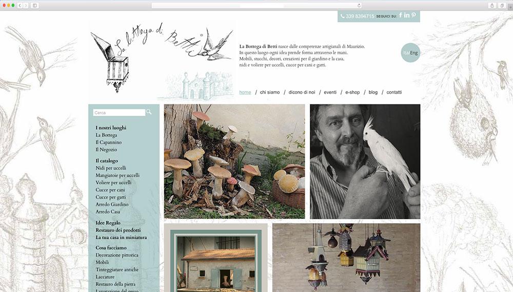 realizzazione sito web per artigiano