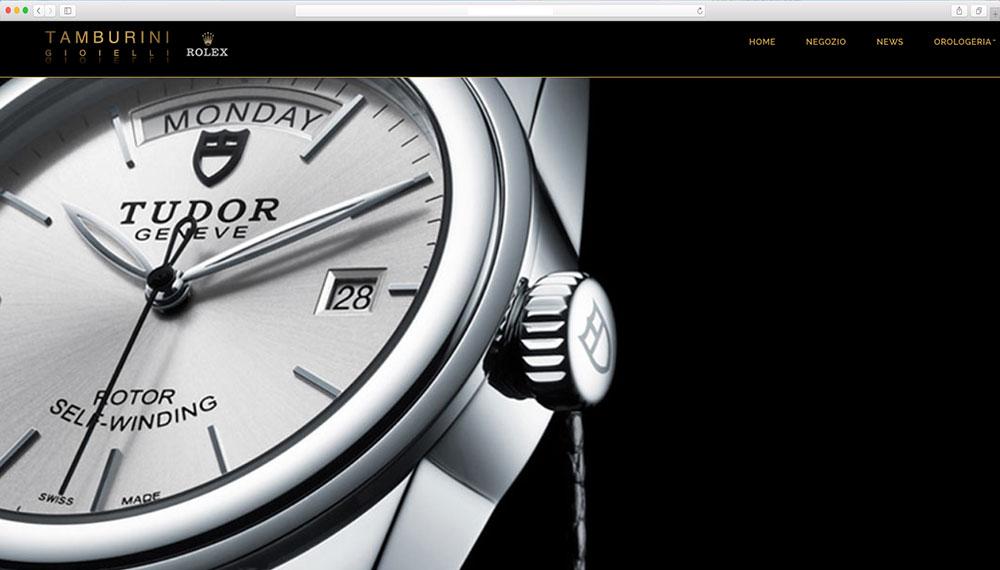 realizzazione sito web conrer Rolex ufficiale