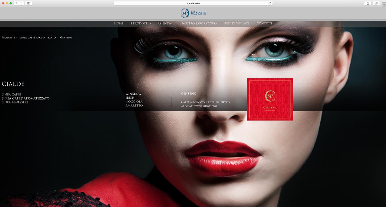 creazione sito web ditta caffè