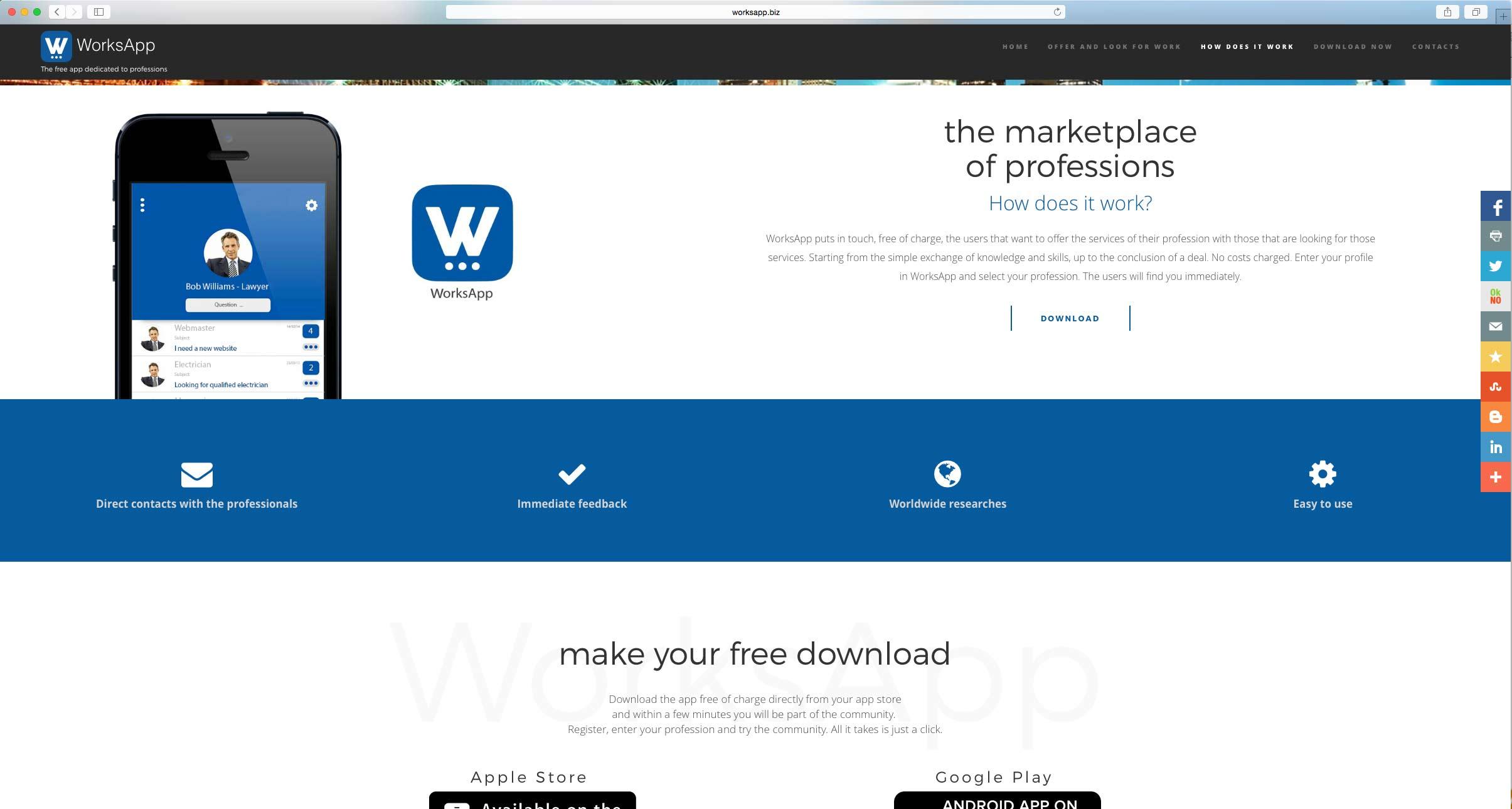 sviluppo App mobile per professionisti
