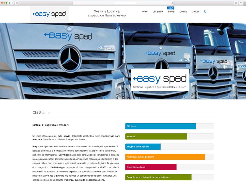 Realizzazione sito web per azienda logistica