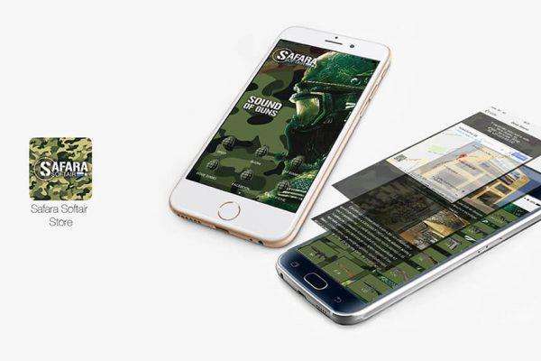 sviluppo App mobile prodotti softair