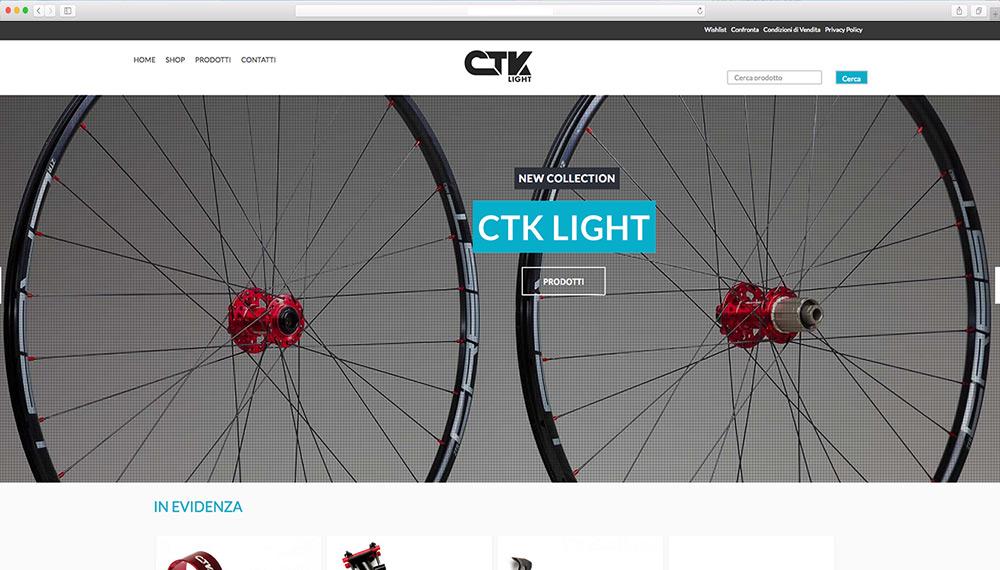 Realizzazione e-commerce ricambi biciclette
