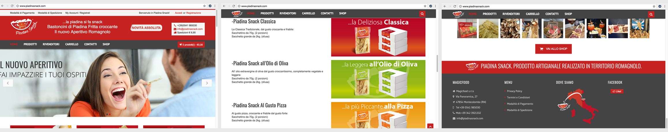 e-commerce Rimini