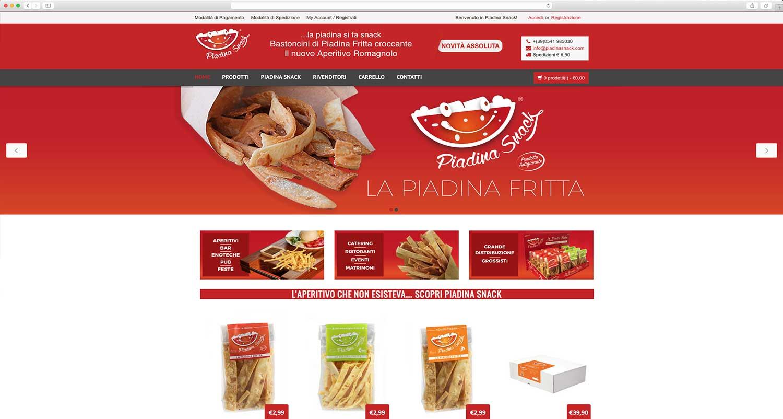 realizzazione e-commerce prodotti alimentari