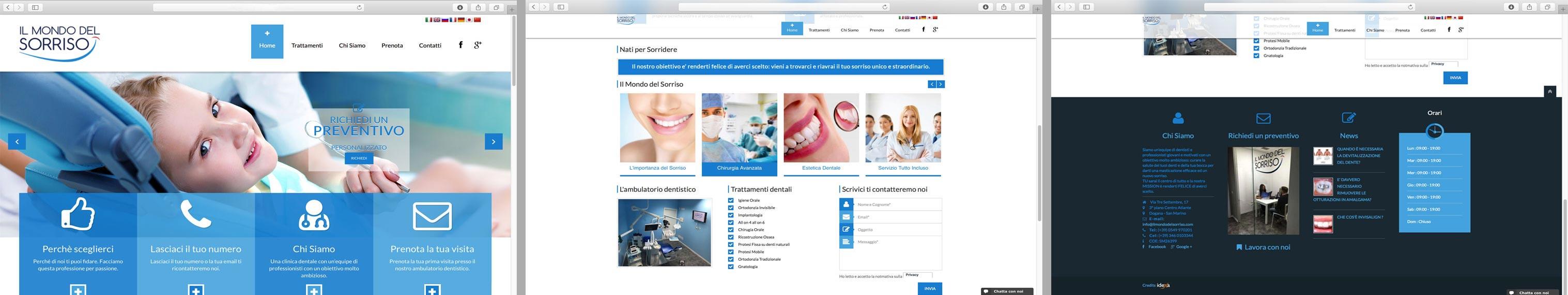 realizzazione siti internet Rimini San Marino