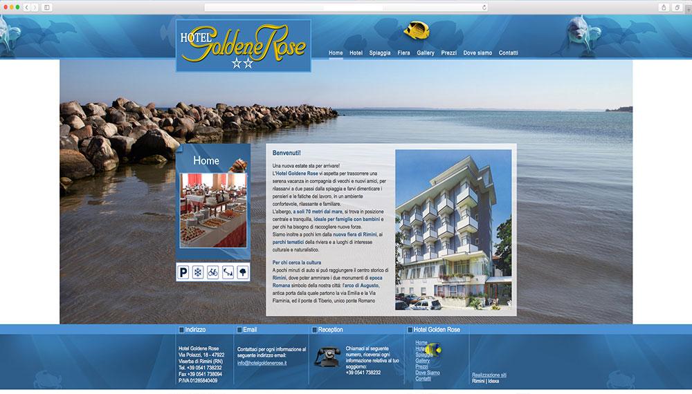 Realizzazione sito web per hotel Rimini