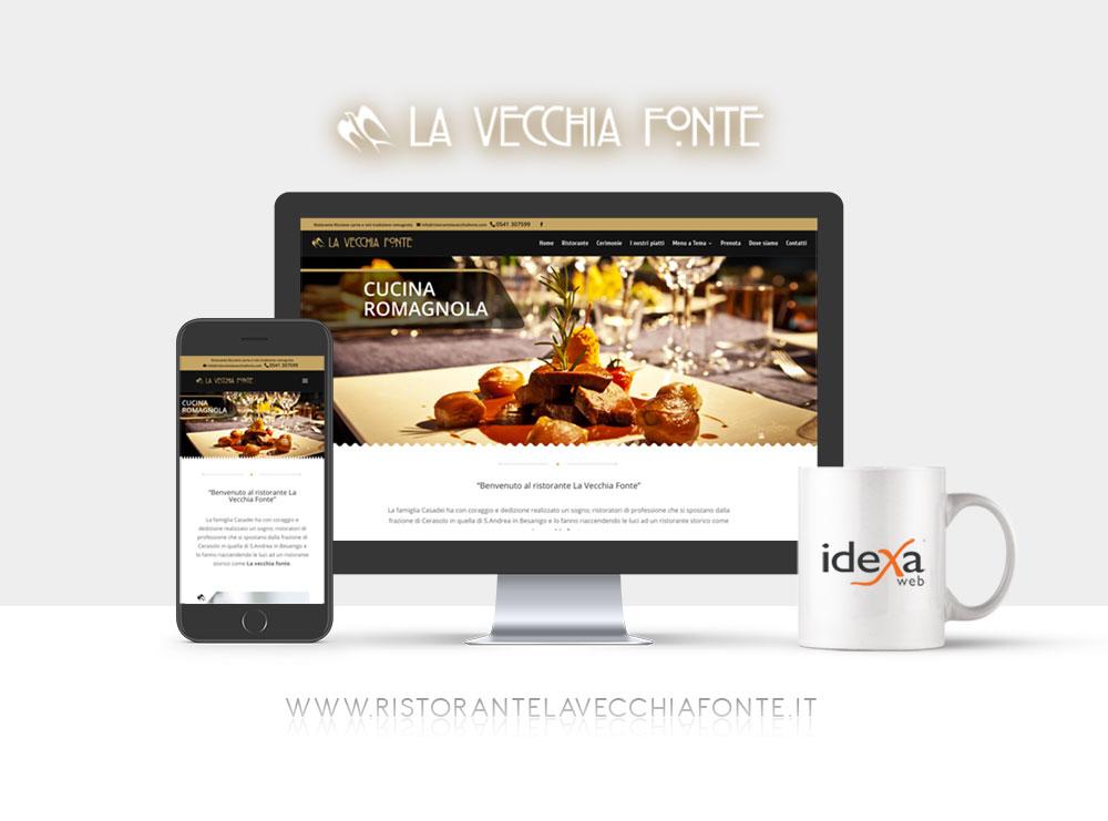 realizzazione sito web per ristorante riccione