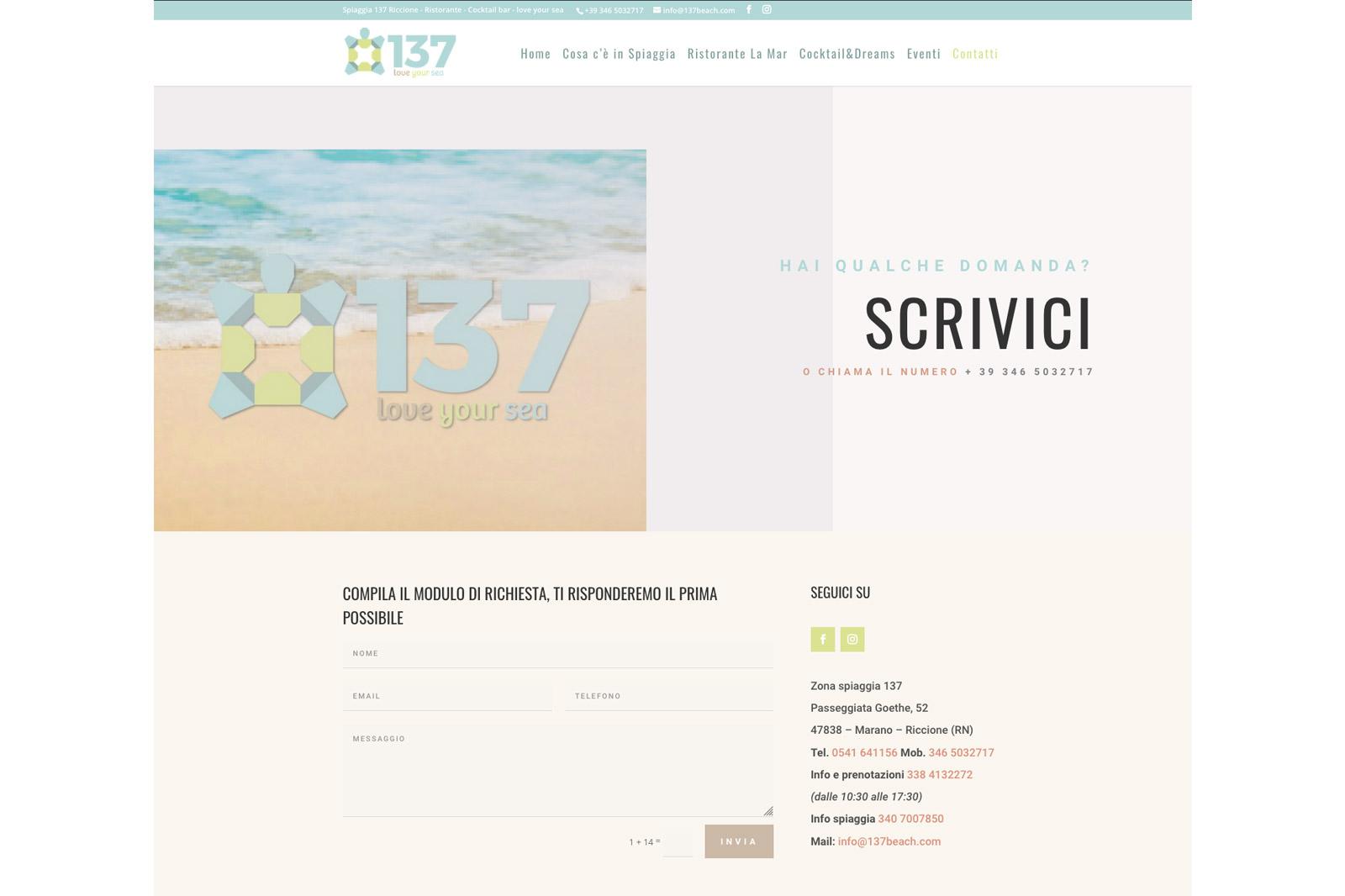 Realizzazione-sito-web-ristorante-rimini-137BEACH-2