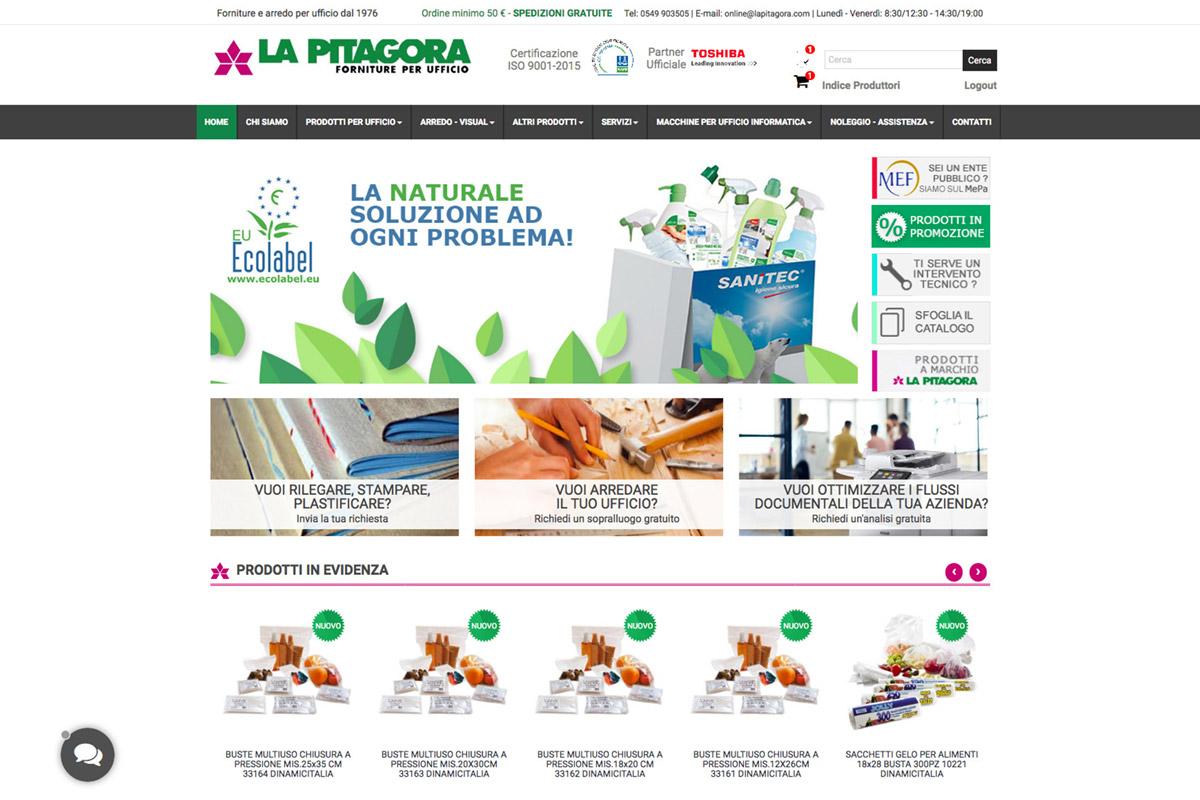realizzazione-ecommerce-personalizzato-san-marino-LA-PITAGORA-home