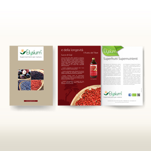 Realizzazione brochure Elysium