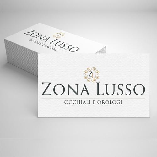 Realizzazione logo Zona lusso
