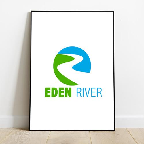Realizzazione logo Eden River B&B