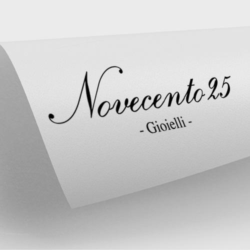 Realizzazione logo Novecento25 gioielli