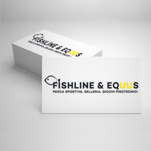 Realizzazione logo Fishline Equus
