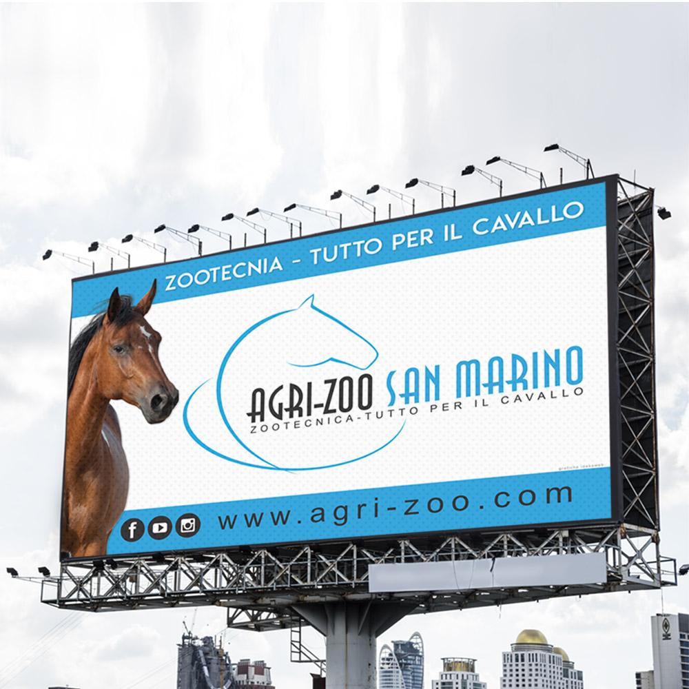 Realizzazione cartellone pubblicitario 4000×2500 per fiera
