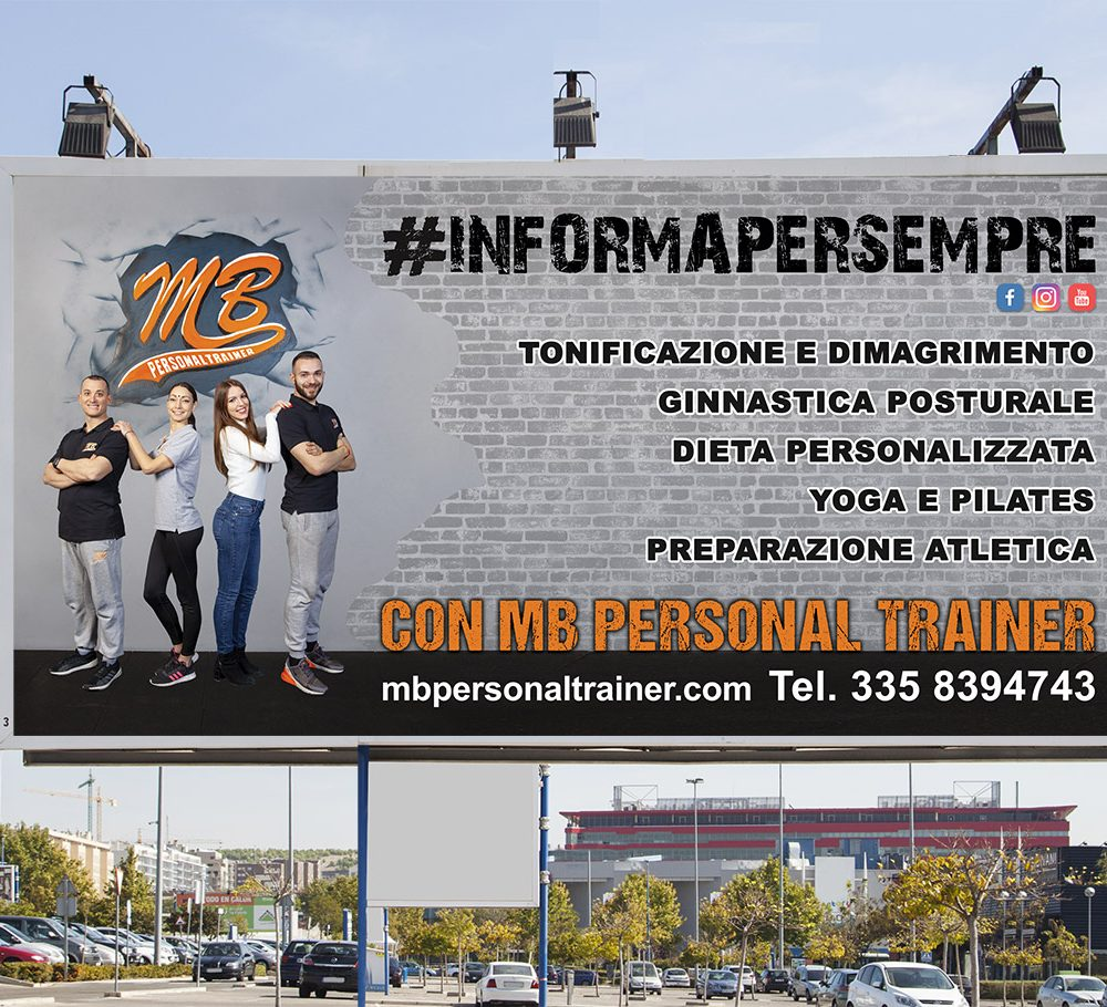 Realizzazione cartellone pubblicitario 6x3metri