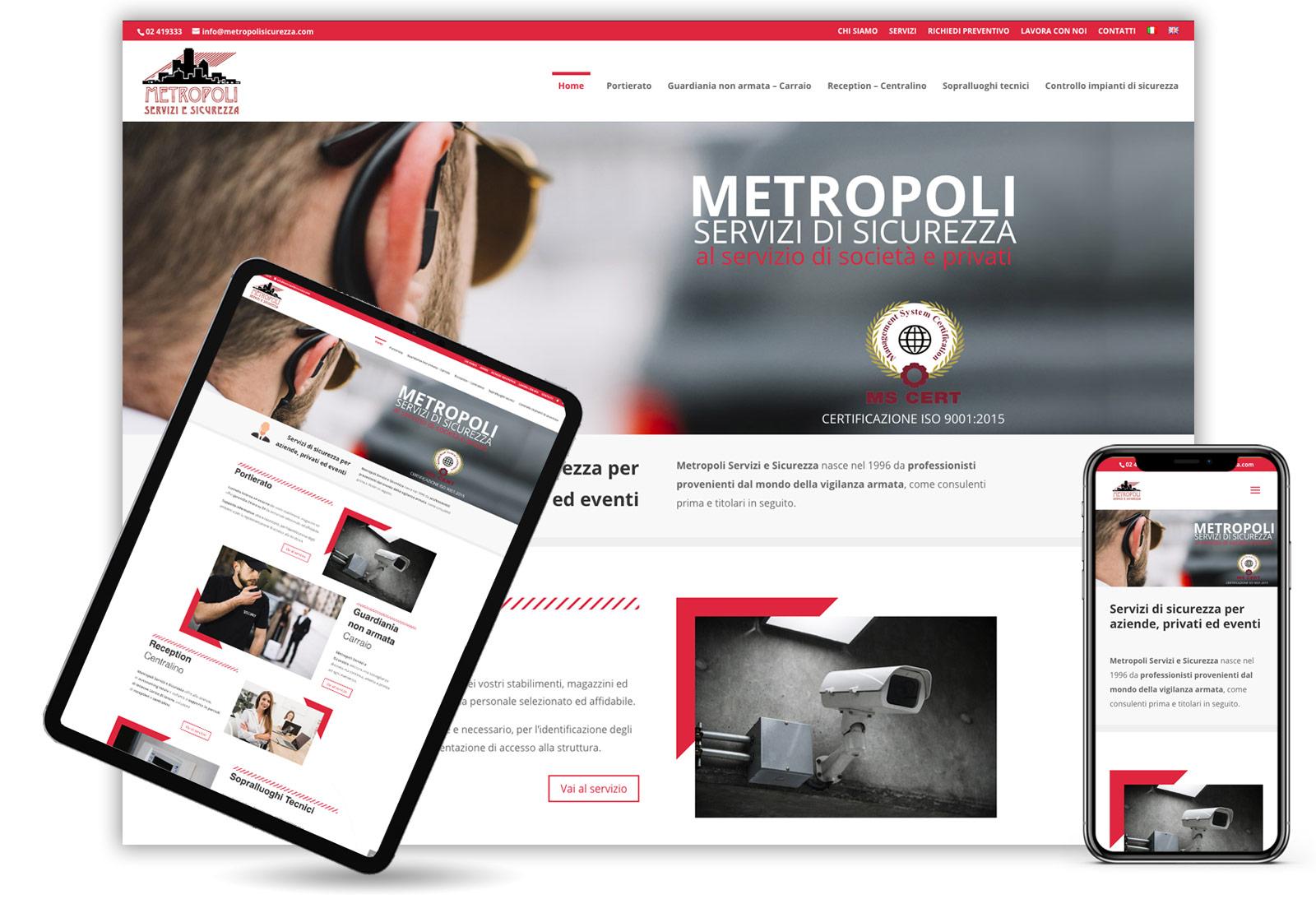 realizzazione-sito-web-agenzia-sicurezza-Milano