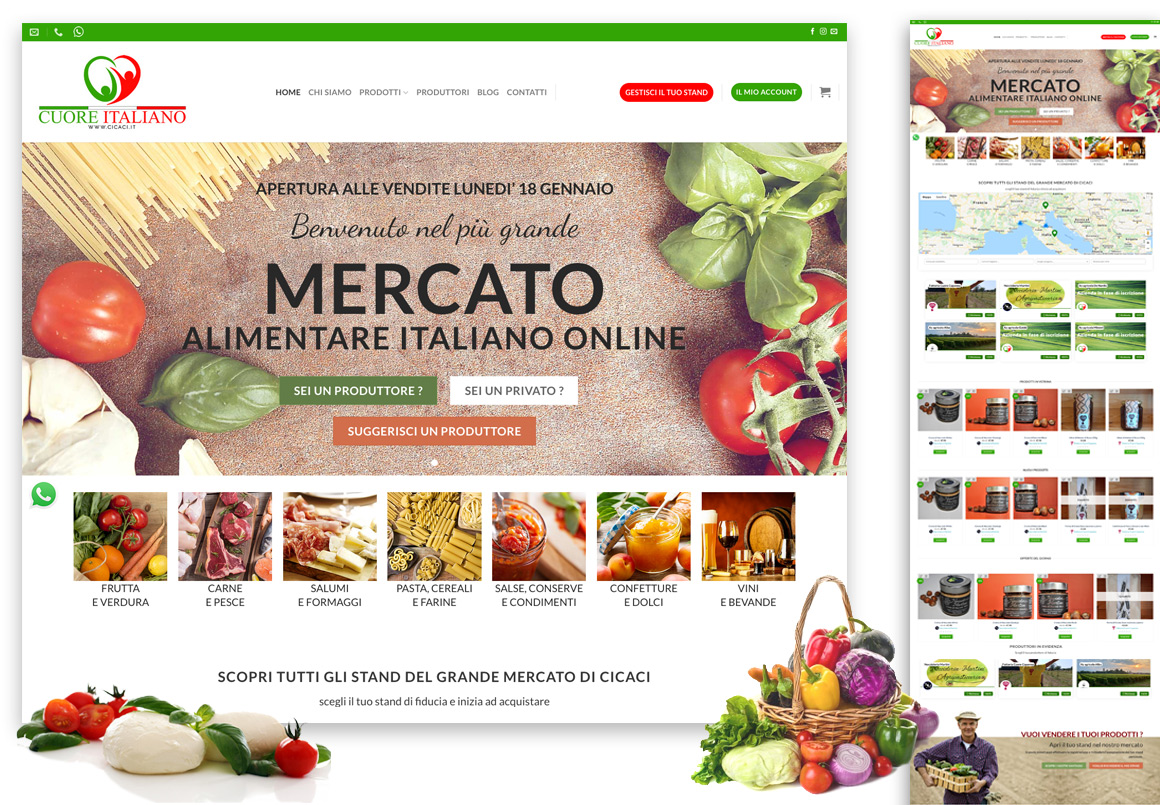 Realizzazione-Marketplace-alimentare