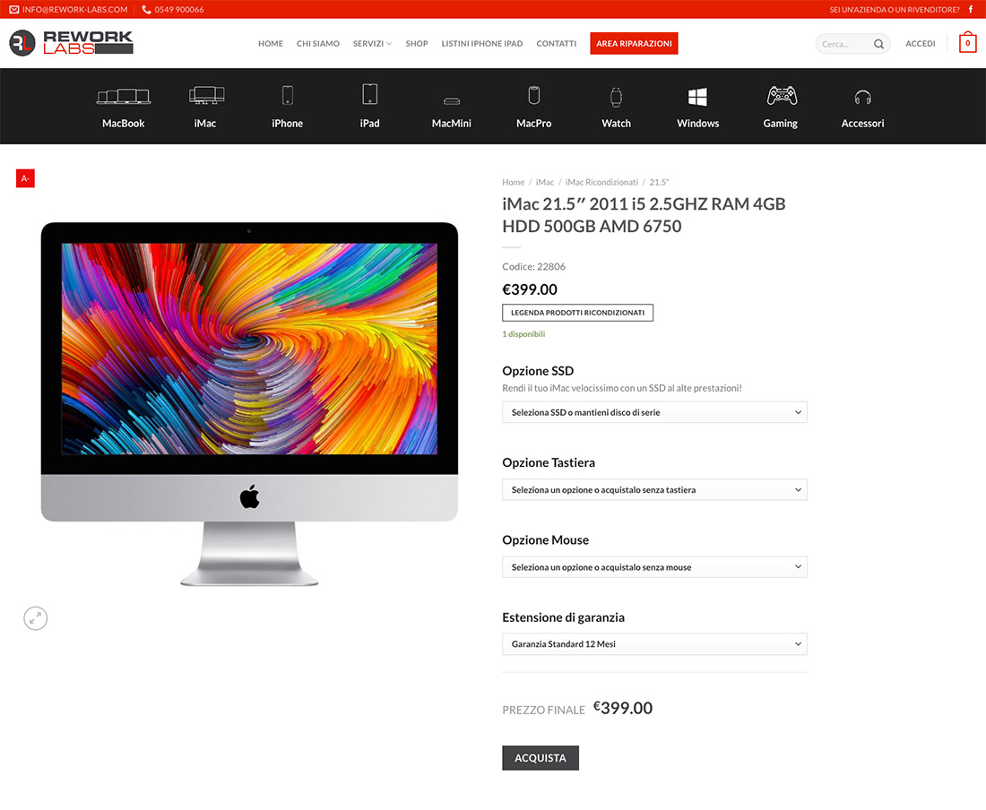 Sviluppo-ecommerce-vendita-prodotti-apple-pc-nuovi-e-ricondizionati-5